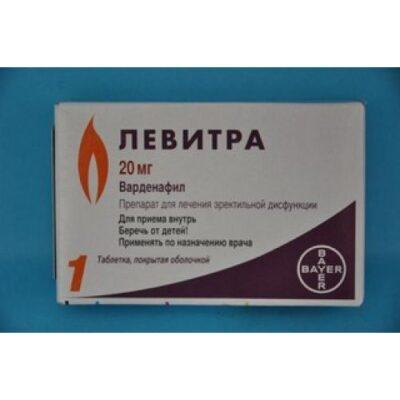 Levitra (Vardenafil) 20 mg 1 coated tablet