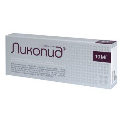 Likopid 10 mg (10 tablets)