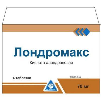 Londromaks 70 mg tablets 4's