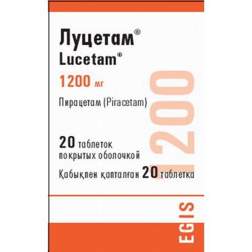 Lutset 1200 mg (20 coated tablets)