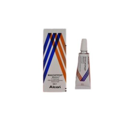 Maksitrol 3.5g ophthalmic ointment