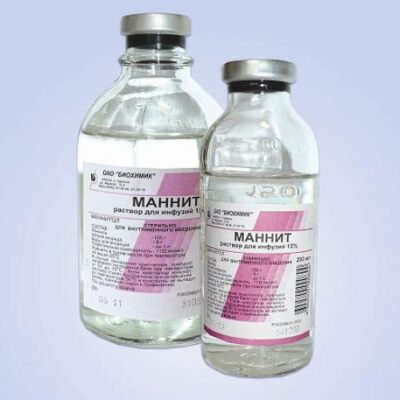 Mannitol 15% 400 ml of solution