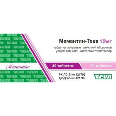 Memantine-Teva 10 mg (30 film-coated tablets)