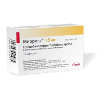 Mioriks 14s 15 mg sustained release capsules