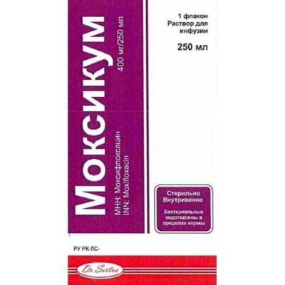 Moksikum 400 mg / 250 ml solution for infusion 1's (vial)