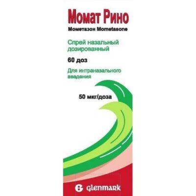 Momat Reno 50 ug / dose to 60 doses of nasal spray metered