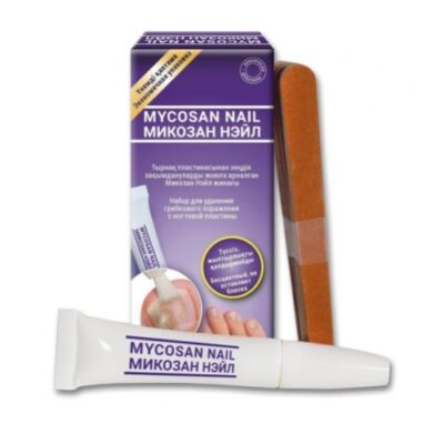 Mycosan Neil 10 ml set to remove fungal lesions from the nail plate