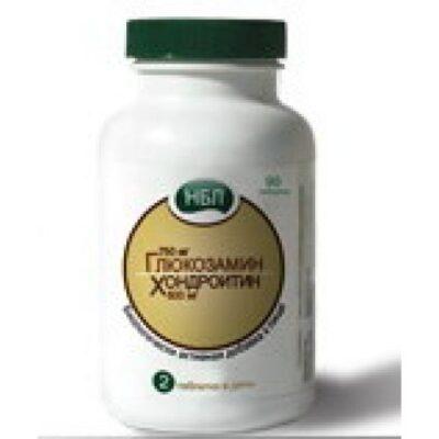 NBL (750 mg Glucosamine / Hondrotin 600 mg) (90 tablets)