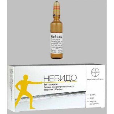 Nebido 250 mg / ml 4 ml intramuscular injection