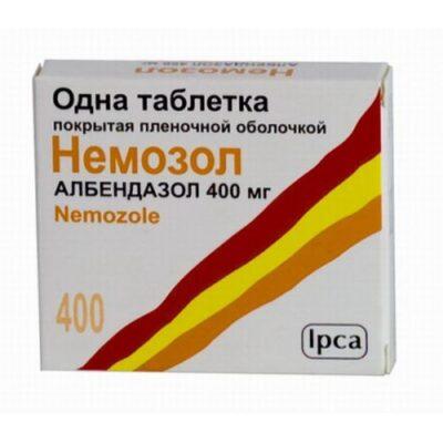 Nemozol 1's 400 mg coated tablets