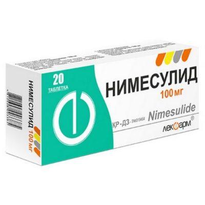 Nimesulide 100mg (20 tablets)