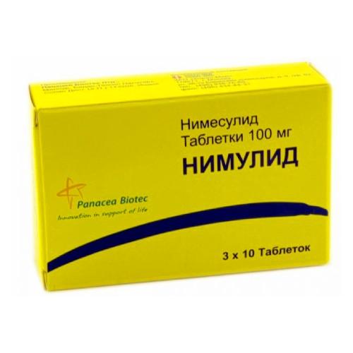 Nimulid® (Nimesulide) 100 mg, 30 tablets