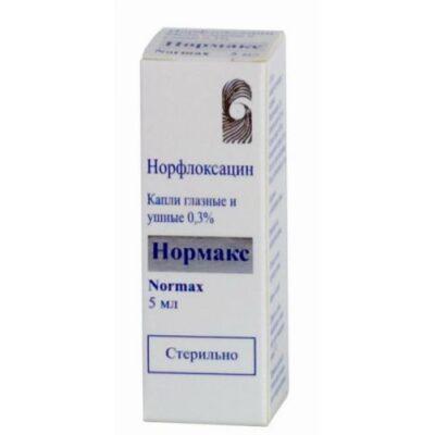 Normaks 0.3% eye drops 5 ml / ear