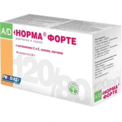 Normal BP-Forte 48's 350 mg capsule