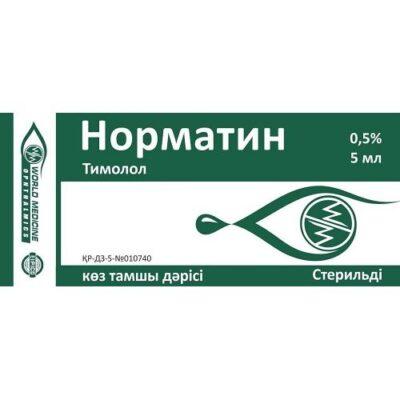 Normatin 5 ml of 0.5% eyedrops