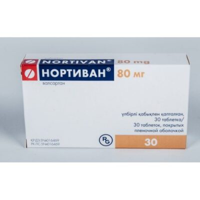 Nortivan® 30s 80 mg film-coated tablets