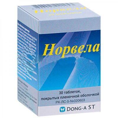Norvel (30 film-coated tablets)