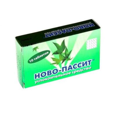 Novo-Passit (10 coated tablets)