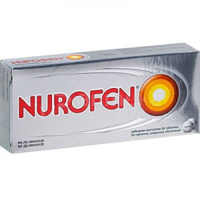 Nurofen 24's 200 mg coated tablets