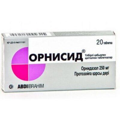 Ornisid 250 mg (20 tablets)