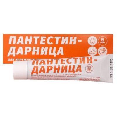 Pantestin-Darnitsya 15g gel tube