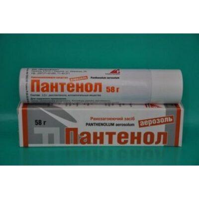 Panthenol 58g aerosol ext.