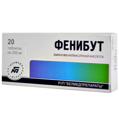 Phenibut (Phenybut) 250 mg (20 tablets)