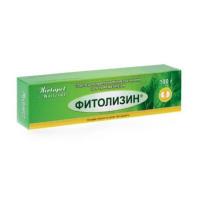Phytolysinum 100g of paste for oral