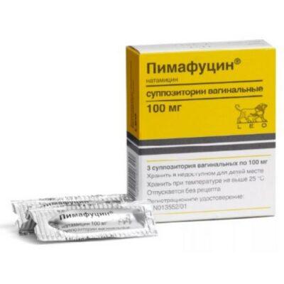 Pimafutsin 3's 100mg Vaginal suppository