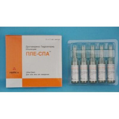 Ple-spa 40 mg / 2 ml 5's solution for injection in ampoules
