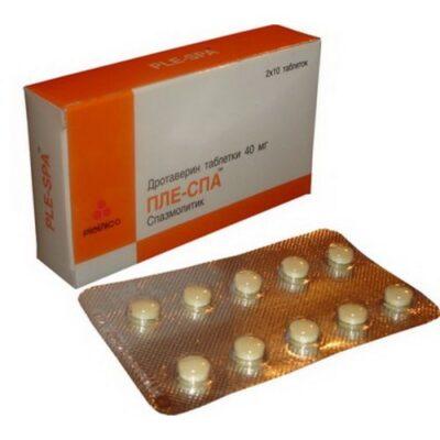 Ple spa 40 mg (20 tablets)