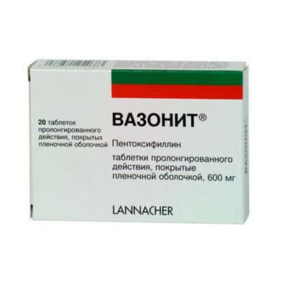 Pot 20s 600 mg film-coated tablets retard