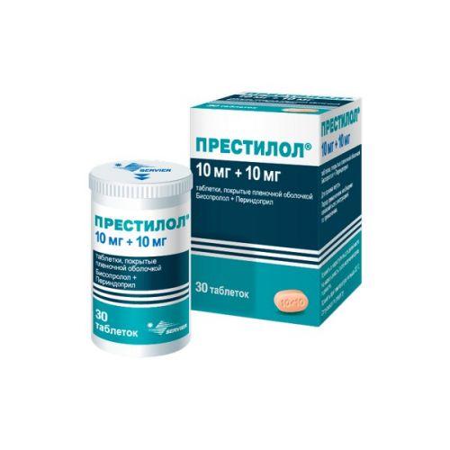 Prestilol 10 mg / 10 mg (30 film-coated tablets)