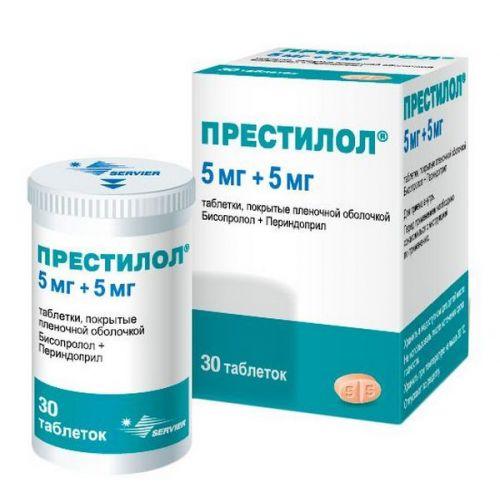Prestilol 5 mg / 5 mg (30 film-coated tablets)