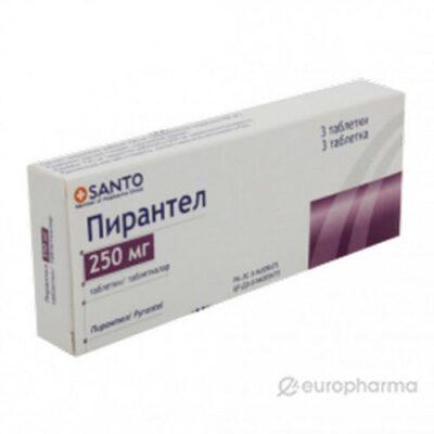 Pyrantel 250 mg (3 tablets)