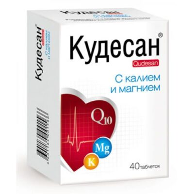 Qudesan with K and Mg (40 tablets)