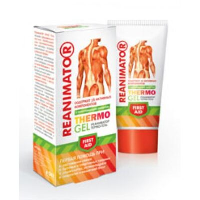 Rescue body 50 ml thermo-gel warming effect