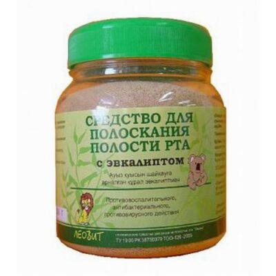 Rinse with 250g of eucalyptus