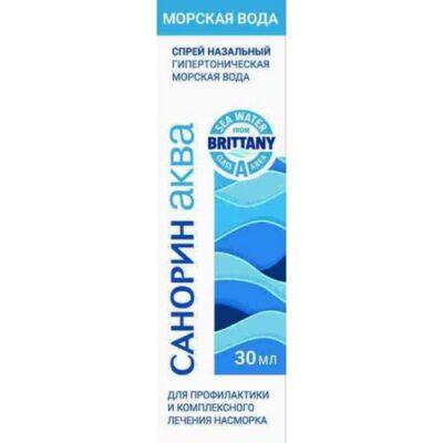 Sanorin Aqua Seawater 30 ml nasal spray