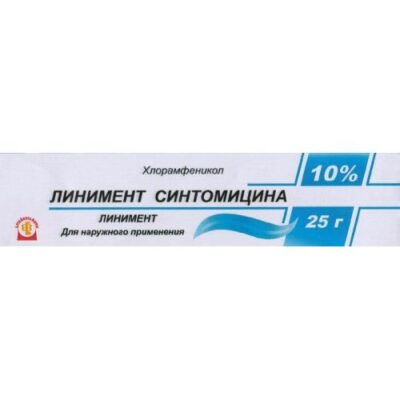 Sintomitsina 10% 25g in tube liniment
