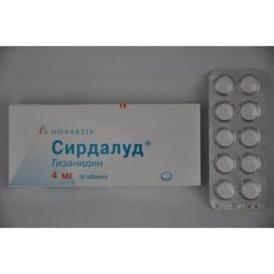 Sirdalud 4 mg (30 tablets)