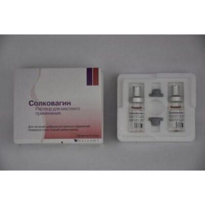 Solkovagina 2's 0.5 ml solution (external application)