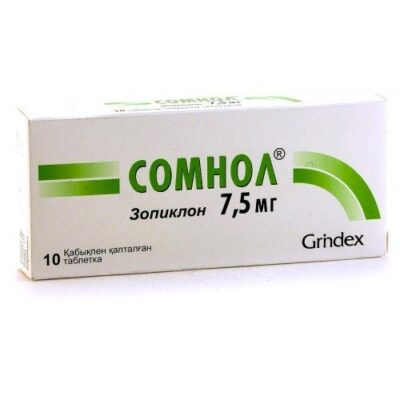 Somnol® (Zopiclone) 7.5 mg