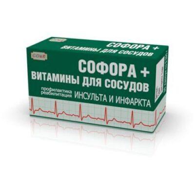Sophora + vitamins for vessels (30 capsules)