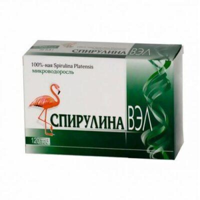 Spirulina-VEE 120s 500 mg tablets