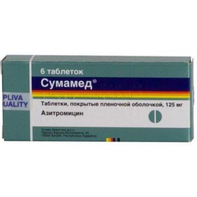 Sumamed ® 125 mg (6 tablets)