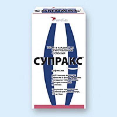 Supraks® 30g of granules for oral suspension