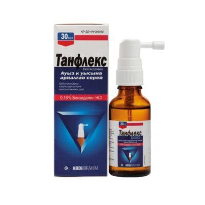 Tanfleks 0.15% 30 ml spray