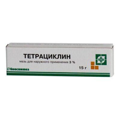 Tetracycline 3% 15g ointment tube