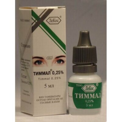 Timman 0.25% 5 ml eye drop.